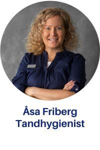 Tandhygienist Åsa Friberg